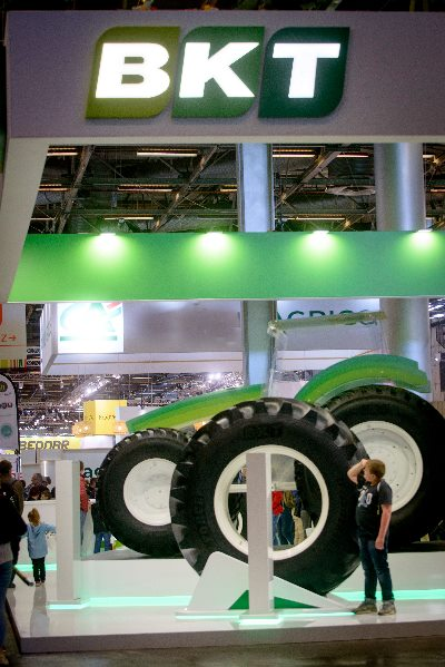 Say hello to BKT's biggest radial agriculture tire! 2